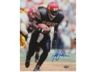 Marshall Faulk signed San Diego State Aztecs 8x10 Photo (blue sig)