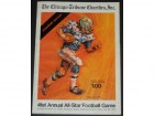1974 Chicago Tribune 41st Annual All-Star Football Game Program between College All Stars and Super Bowl Champion Miami Dolphins - Lynn Swann, Mike Webster, Ed Too Tall Jones and more