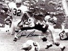 Jim Brown Autographed / Signed Breaking Tackle 8x10 Photo