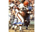 Jim Brown Autographed / Signed Taking the Hand Off 8x10 Photo