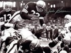 Jim Brown Autographed / Signed Jumping Over Tackle 8x10 Photo