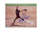 Jennie Finch Signed / Autographed Baseball 8x10 Photo