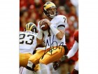 Chad Henne Autographed / Signed Michigan Wolverine 8x10 Photo