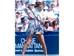 Monica Seles Autographed / Signed Tennis 8x10 Photo