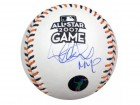 "Ichiro Suzuki Autographed Official 2007 All-Star Baseball Seattle Mariners ""MVP"" IS Holo Stock #13102"