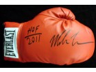 "Mike Tyson Autographed Everlast Boxing Glove ""HOF 2011"" RH TriStar Stock #28594"