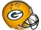 Aaron Rodgers signed Green Bay Packers Riddell Full Size Proline Helmet- JSA Hologram #H96242