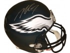 Michael Vick signed Philadelphia Eagles Riddell Full Size Replica Helmet #7 (silver sig)- JSA Witnessed Hologram