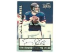 Danny Kanell signed 1996 Draft Pick Vision Signings Football Card (New York Giants)