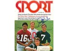 Joe Theismann Autographed / Signed Sport Magazine