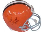 Paul Warfield signed Cleveland Browns Full Size Replica Helmet HOF 83
