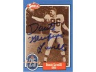 Dante Lavelli Autographed 1988 Swell Hall of Fame Card