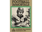 Clarence Ace Parker Autographed Football Immortals Card #97 - Boston Yanks