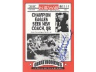 Chuck Bednarik Autographed Great Moments in Sports Card