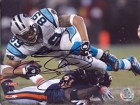 Steve Smith Autographed / Signed 8x10 Diving Over Tackler Photo