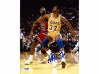 Magic Johnson Autographed 8x10 Photo Los Angeles Lakers PSA/DNA Stock #32279