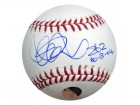 "Ichiro Suzuki Autographed Official MLB Baseball Seattle Mariners ""262 & 10-3-04"" IS Holo Stock #17966"