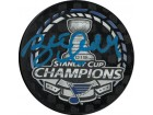 Brett Hull signed 2019 Stanley Cup Champions NHL Hockey Puck- PSA ITP Hologram (St. Louis Blues/blue sig)