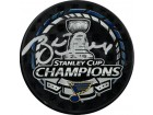 Brett Hull signed 2019 Stanley Cup Champions NHL Hockey Puck- PSA ITP Hologram (St. Louis Blues/silver sig)