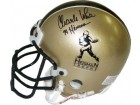 Charles White signed Gold Heisman Authentic Mini Helmet '79 Heisman (USC Trojans)
