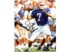 Danny Wuerffel 96 Heisman Autographed / Signed Looking to Throw the Ball 8x10 Photo