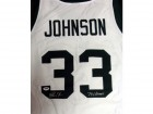 "Magic Johnson Autographed White Michigan State Spartans Jersey ""79 Champs"" PSA/DNA Stock #32249"