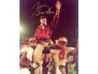 Bobby Bowden signed Florida State Seminoles 8x10 Photo Carryoff Natl Champs