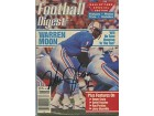 Warren Moon Autographed/Signed Football Digest
