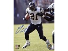 LaDainian Tomlinson Autographed / Signed Stiff Arming 8x10 Photo