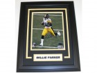 Willie Parker Signed - Autographed Pittsburgh Steelers 8x10 inch Photo - Custom FRAME - Guaranteed to pass PSA or JSA