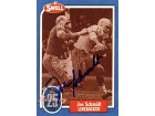 Joe Schmidt Autographed 1988 Swell Hall of Fame Football Card