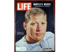 Mickey Mantle Autographed Life Magazine New York Yankees PSA/DNA #J86320