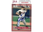 John Rocker signed 2000 Fleer/Skybox Impact Baseball Card #50- JSA #HH18809 (Atlanta Braves)