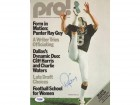 Ray Guy Autographed Magazine Cover Raiders PSA/DNA #S28880