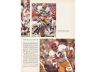 Ricky Bell & Tony Dorsett Autographed Magazine Page Photo Pittsburgh PSA/DNA #S28931