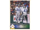 Steve Largent Autographed / Signed 1992 Pacific League Football Card