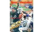 Mark Van Eeghen Autographed / Signed Sports Illustrated - January 19 1981