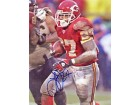 Larry Johnson Autographed / Signed 8x10 Photo