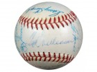 1959 AL All Stars Multi Signed (26 Signatures) Autographed AL Harridge Baseball Mickey Mantle, Ted Williams, Berra, Stengel, Killebrew, Ford, Aparicio, Wynn & Kaline JSA #B64126