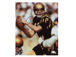 Roger Staubach Autographed / Signed 8x10 Photo - Navy
