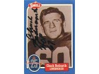 Chuck Bednarik Autographed/Signed 1988 Sewell Card