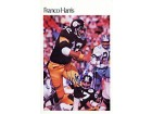Franco Harris Autographed / Signed Mini Poster