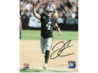 Derek Carr Oakland Raiders Autographed 16x20 Photo #1128