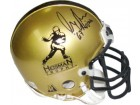 Gary Beban signed Heisman Authentic Gold Mini Helmet 67 Heisman (UCLA Bruins)