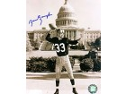 Sammy Baugh Autographed / Signed In Front of the White House 8x10 Photo