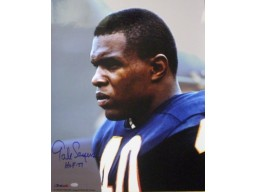 Gale Sayers signed Chicago Bears 16x20 Photo HOF77