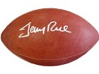 Jerry Rice Autographed / Signed Official Football