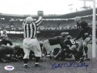 Bill Dudley Autographed 8x10 Photo Redskins PSA/DNA #S35543