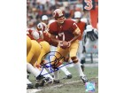 Joe Theismann Autographed / Signed Football 8x10 Photo