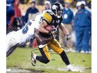 Hines Ward Autographed In the Rain 16x20 Photo (James Spence)